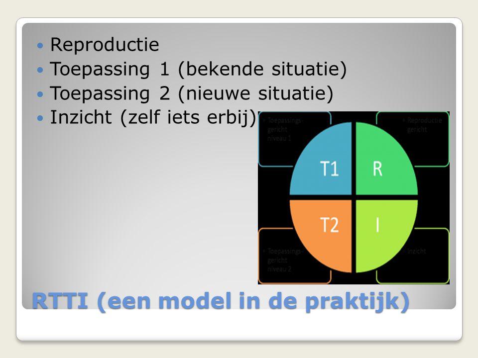 RTTI (een model in de praktijk)