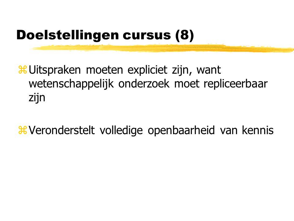 Doelstellingen cursus (8)