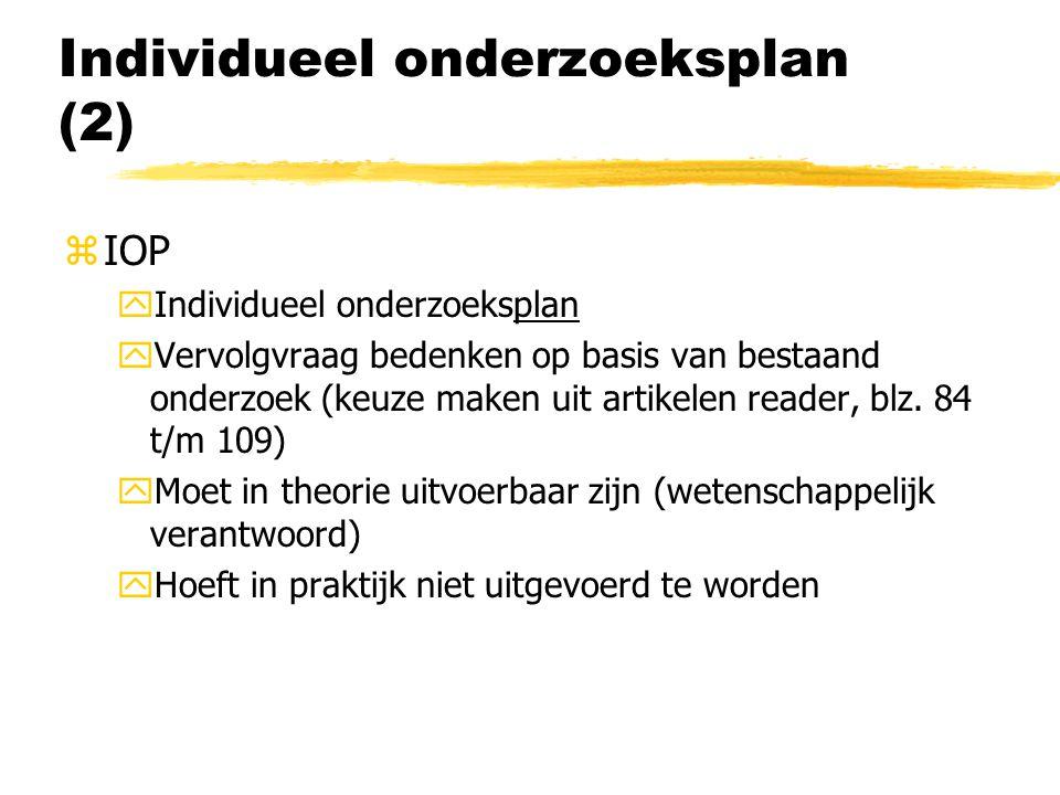 Individueel onderzoeksplan (2)