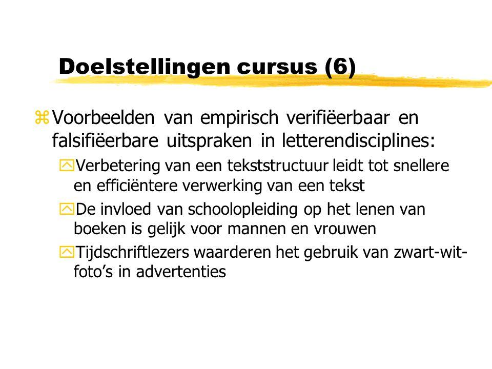 Doelstellingen cursus (6)