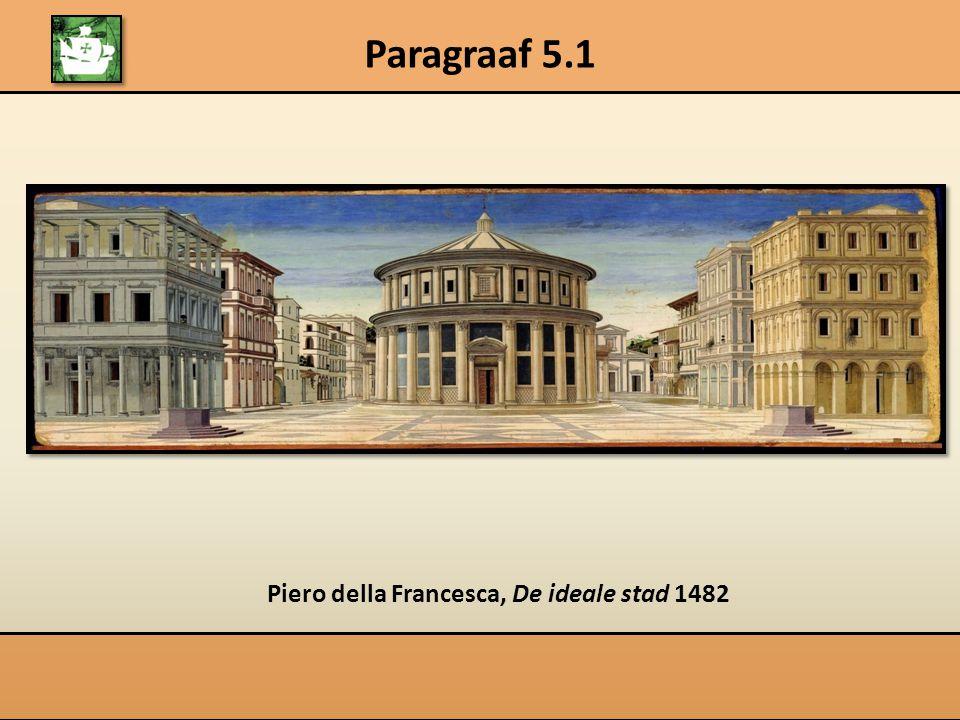 Piero della Francesca, De ideale stad 1482