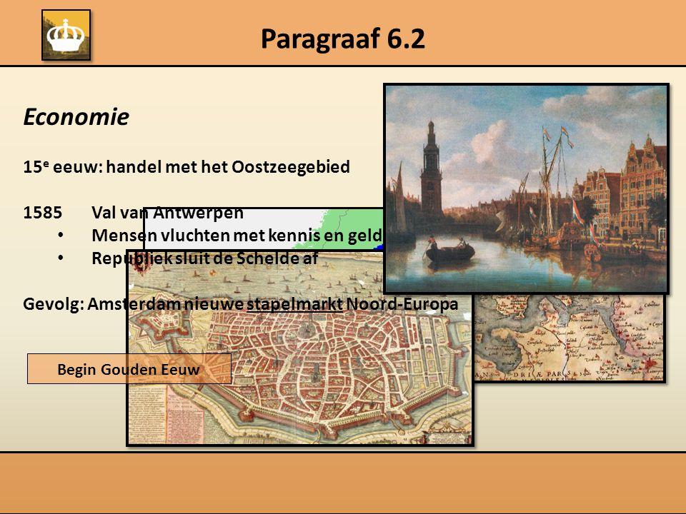 Paragraaf 6.2 Economie 15e eeuw: handel met het Oostzeegebied