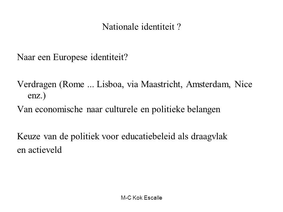 Naar een Europese identiteit
