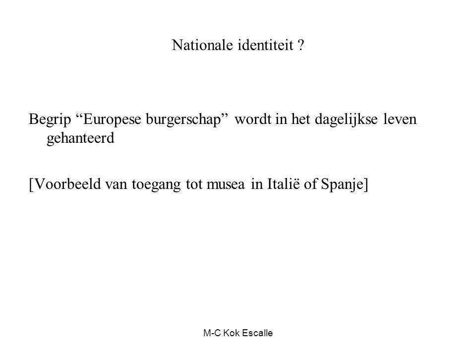 Begrip Europese burgerschap wordt in het dagelijkse leven gehanteerd