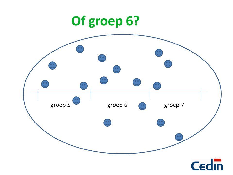 Of groep 6 groep 5 groep 6 groep 7