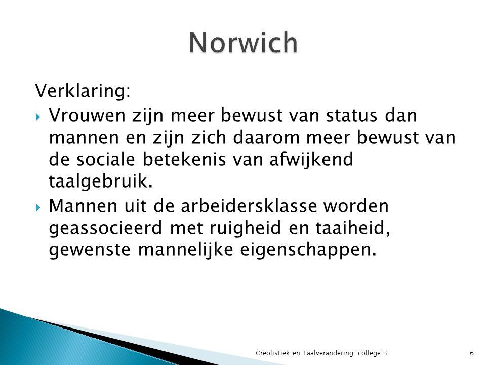Norwich Verklaring: