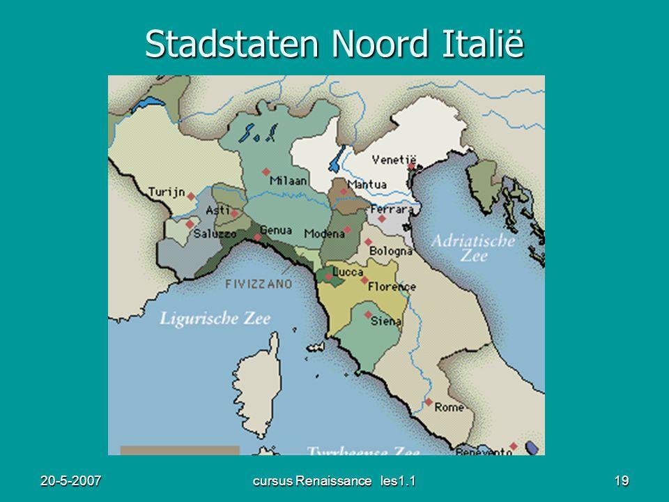 Stadstaten Noord Italië