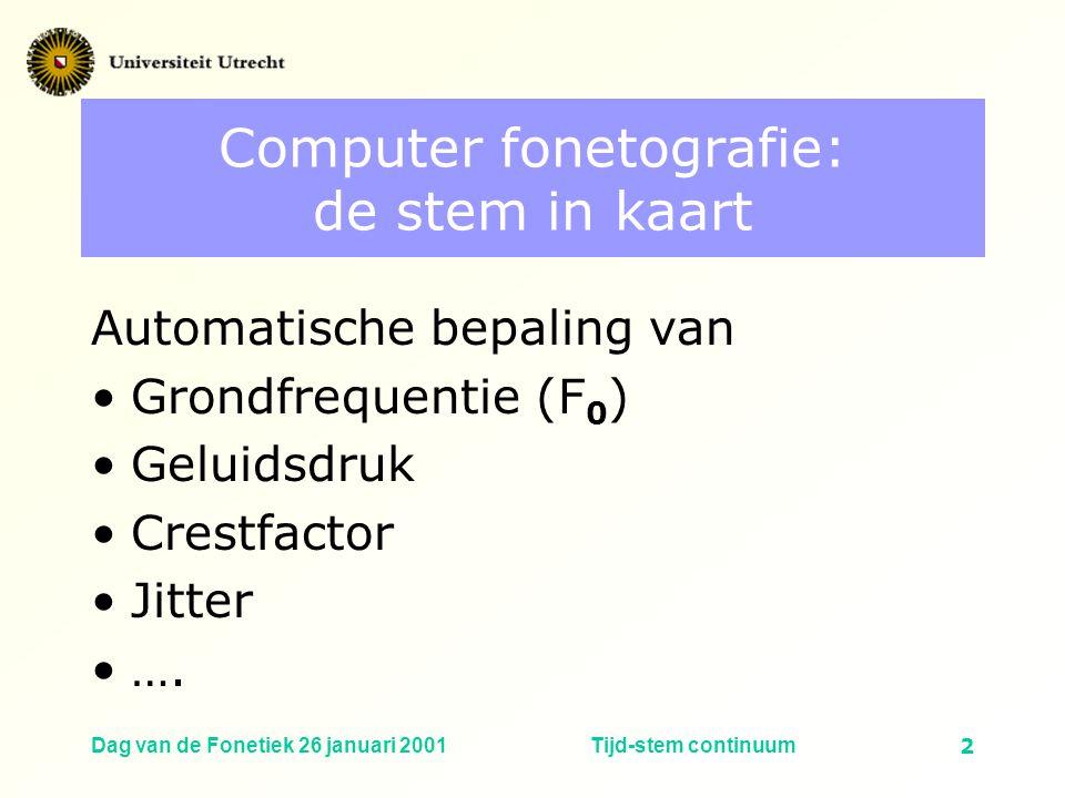 Computer fonetografie: de stem in kaart