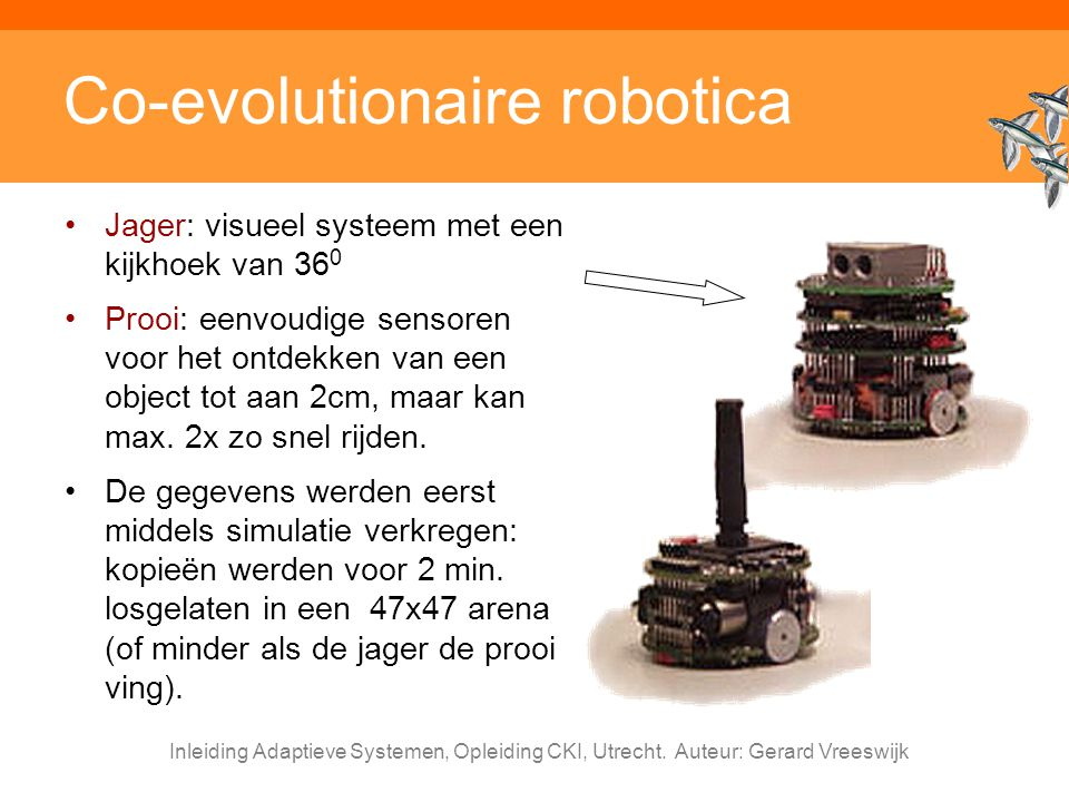 Co-evolutionaire robotica