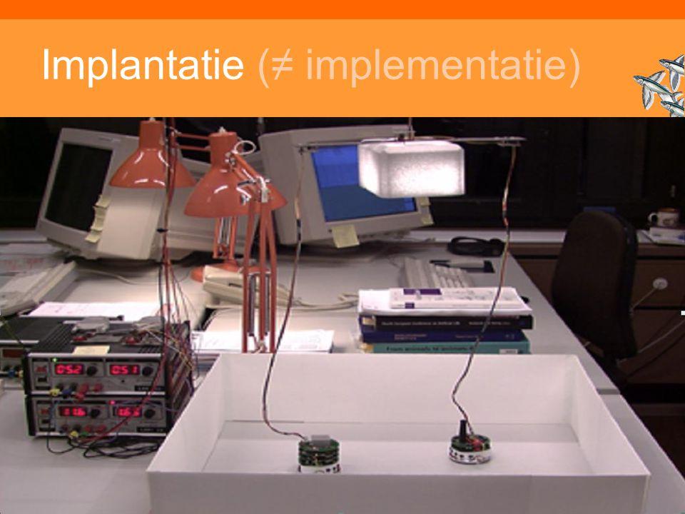 Implantatie (≠ implementatie)