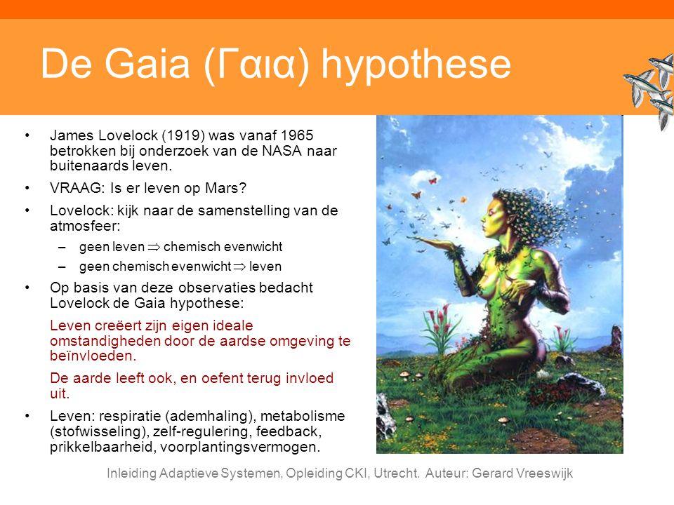 De Gaia (Γαια) hypothese