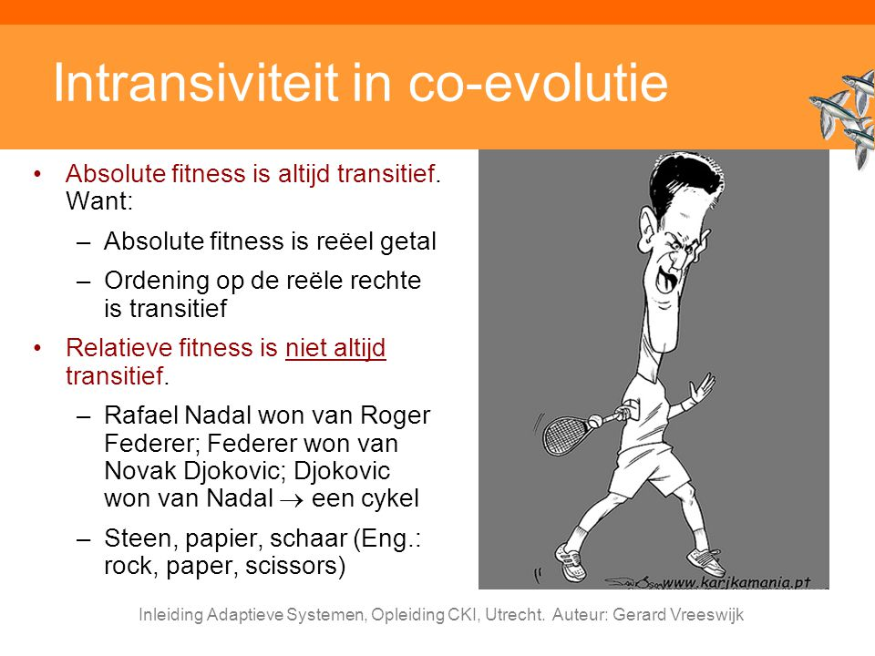 Intransiviteit in co-evolutie