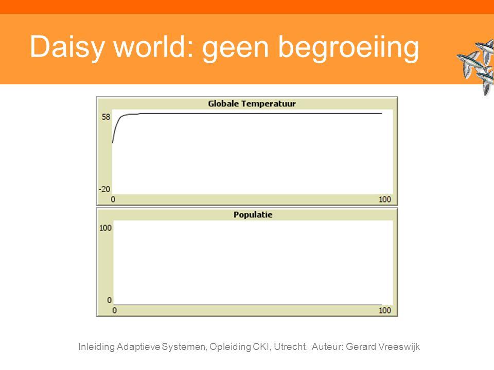 Daisy world: geen begroeiing