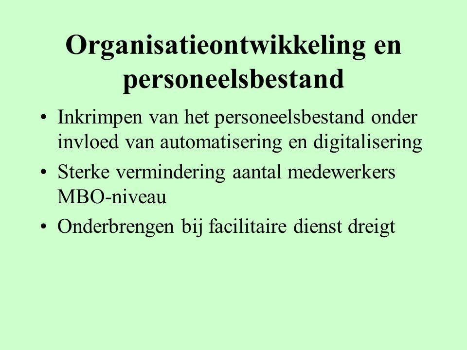 Organisatieontwikkeling en personeelsbestand