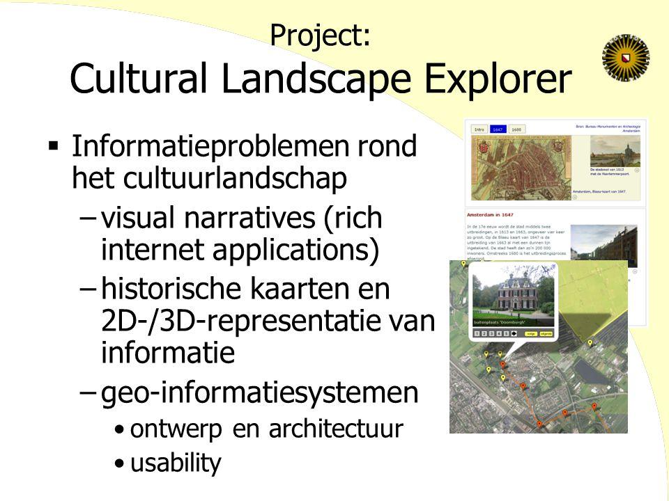 Project: Cultural Landscape Explorer