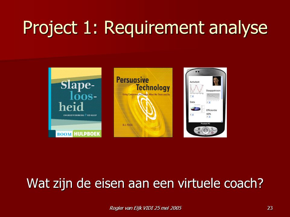 Project 1: Requirement analyse