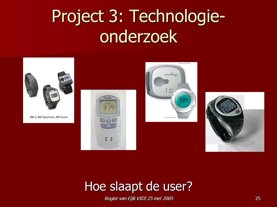 Project 3: Technologie-onderzoek