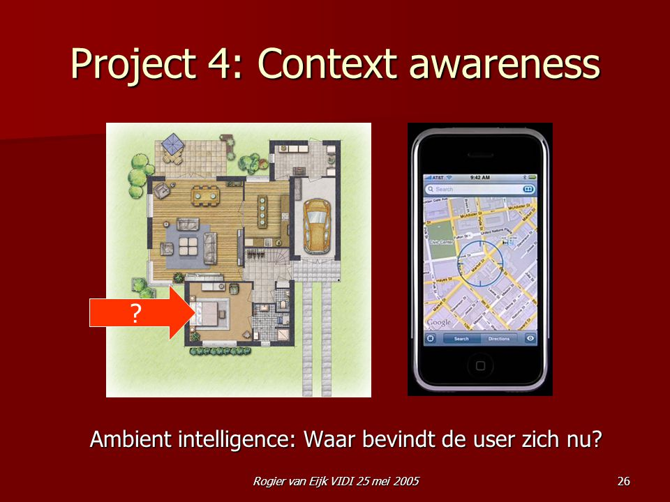 Project 4: Context awareness