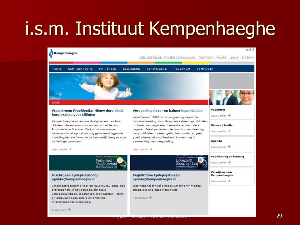 i.s.m. Instituut Kempenhaeghe