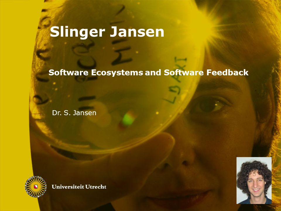 Software Ecosystems and Software Feedback