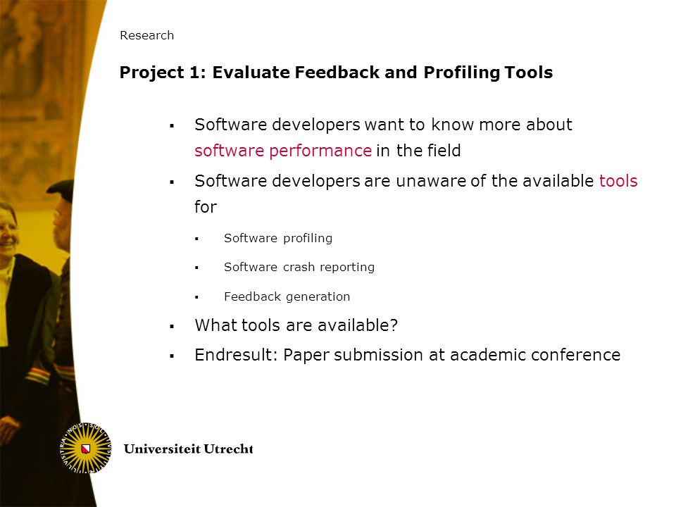 Project 1: Evaluate Feedback and Profiling Tools