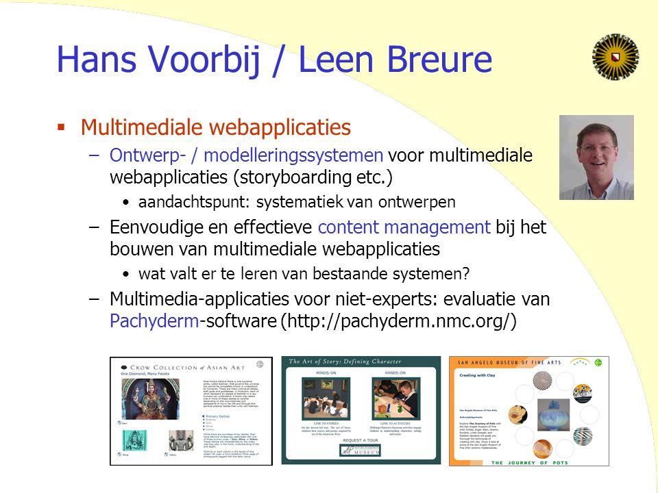 Hans Voorbij / Leen Breure