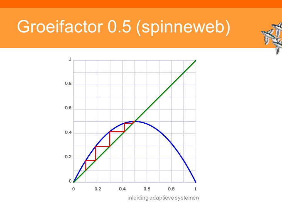 Groeifactor 0.5 (spinneweb)