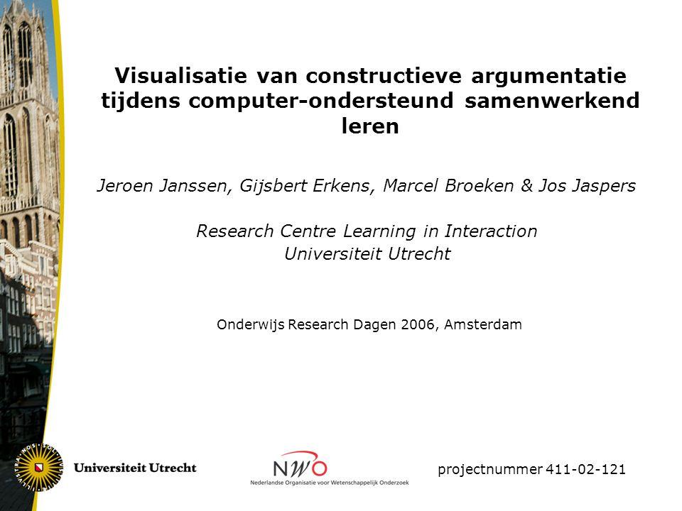 Visualisatie van constructieve argumentatie tijdens computer-ondersteund samenwerkend leren