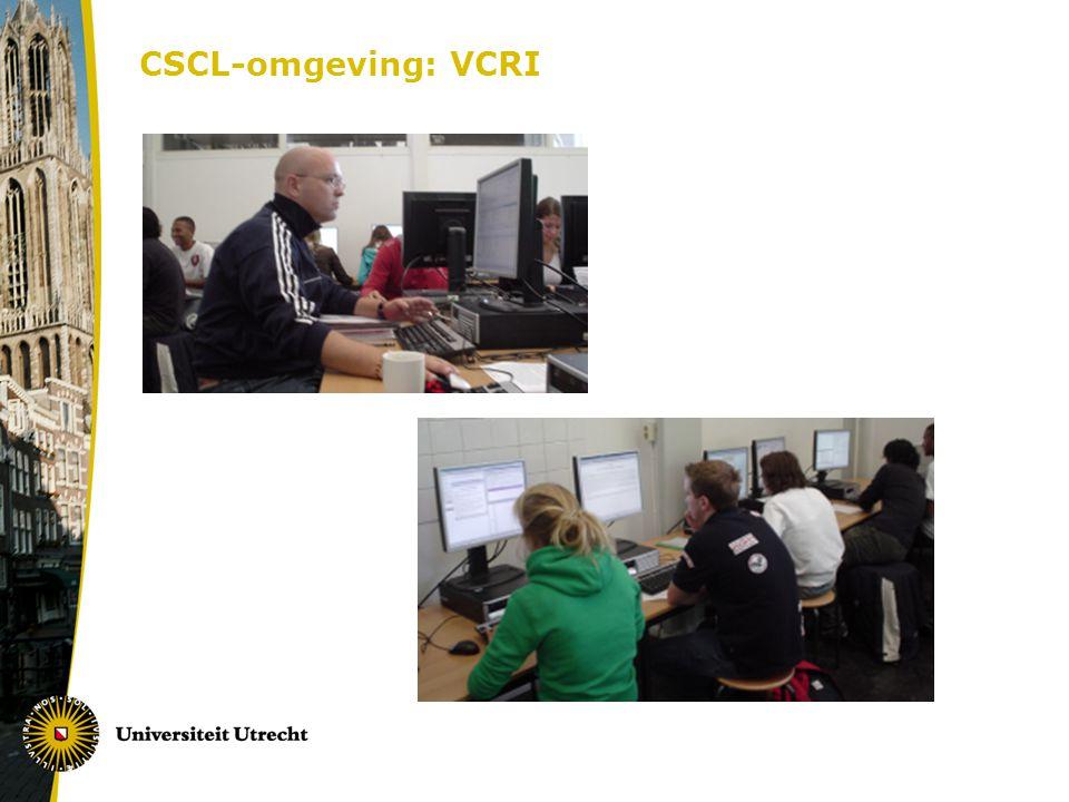 CSCL-omgeving: VCRI