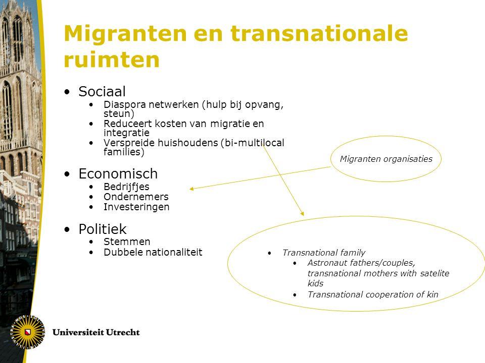Migranten en transnationale ruimten