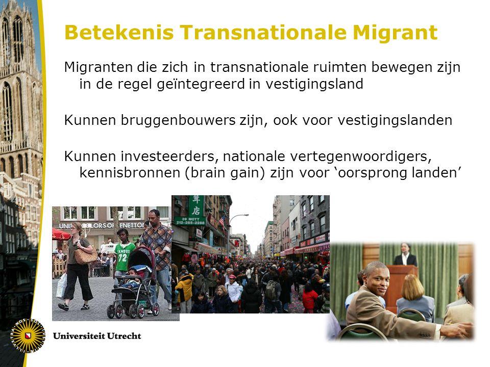 Betekenis Transnationale Migrant