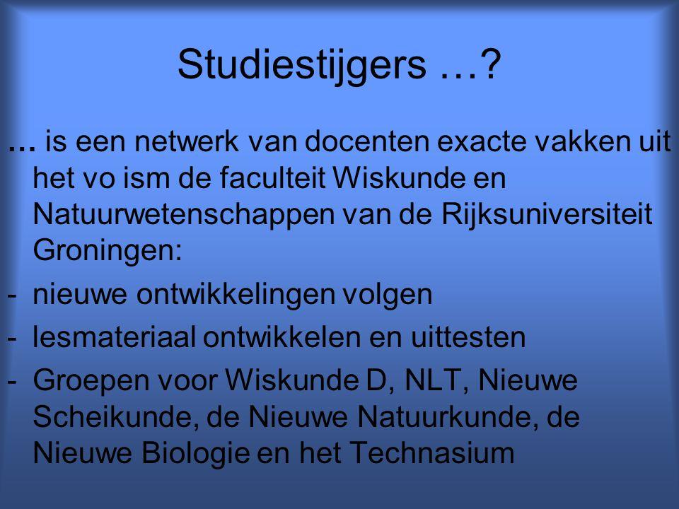 Studiestijgers …