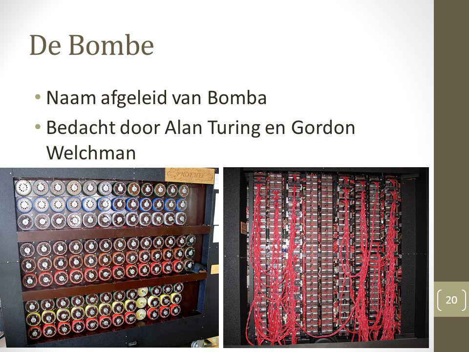 De Bombe Naam afgeleid van Bomba