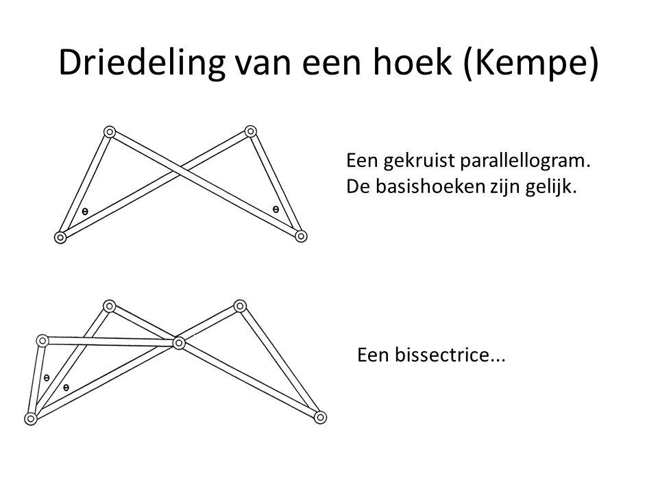 Driedeling van een hoek (Kempe)