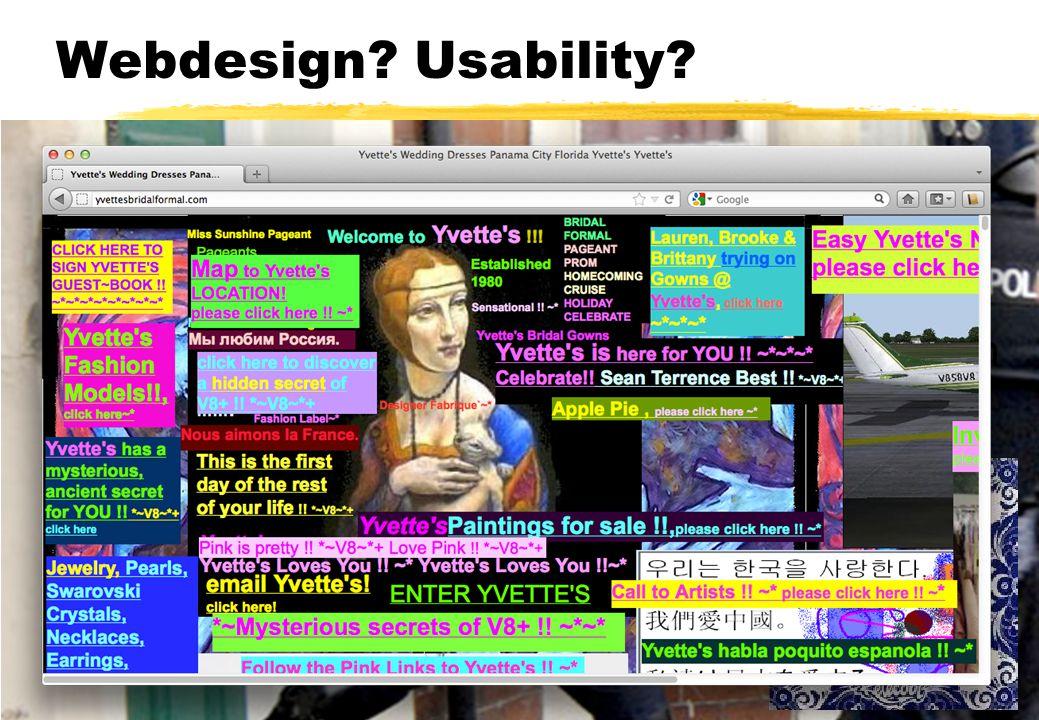 Webdesign Usability Komt aan bod bij andere vakken