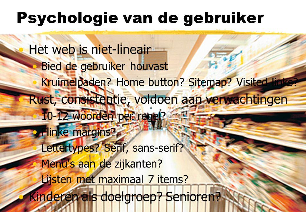 Psychologie van de gebruiker