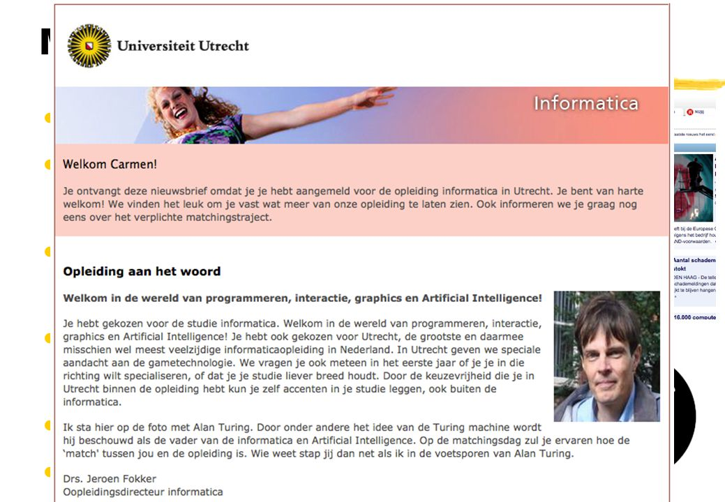 Mediagebruik Pop-ups Splash screens Ads Autostart Flash intro s