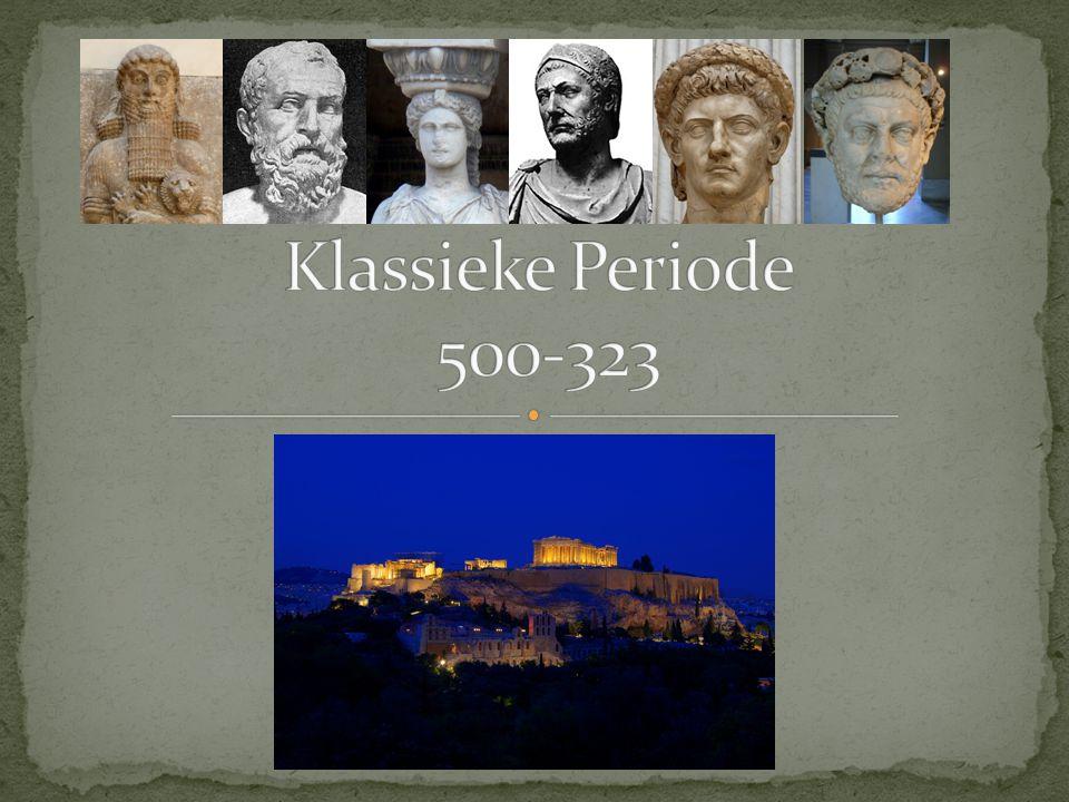 Klassieke Periode 500-323