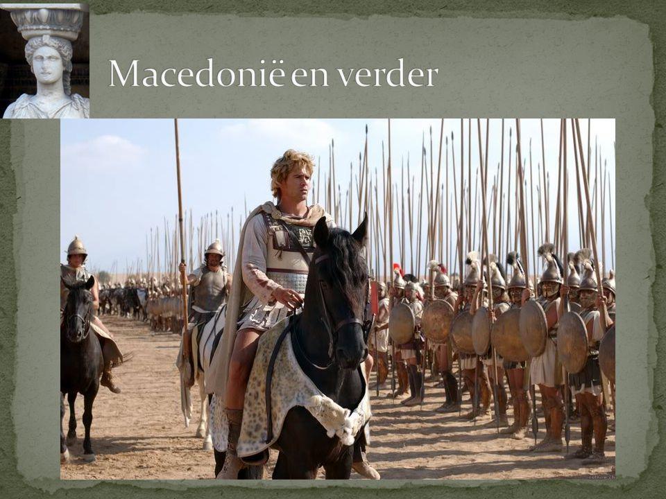 Macedonië en verder