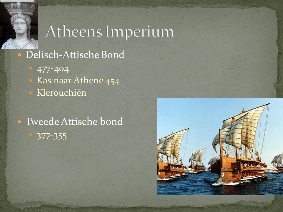 Atheens Imperium Delisch-Attische Bond Tweede Attische bond 477-404