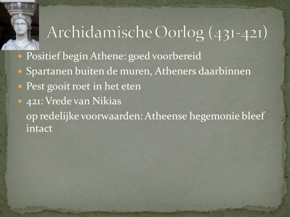 Archidamische Oorlog (431-421)