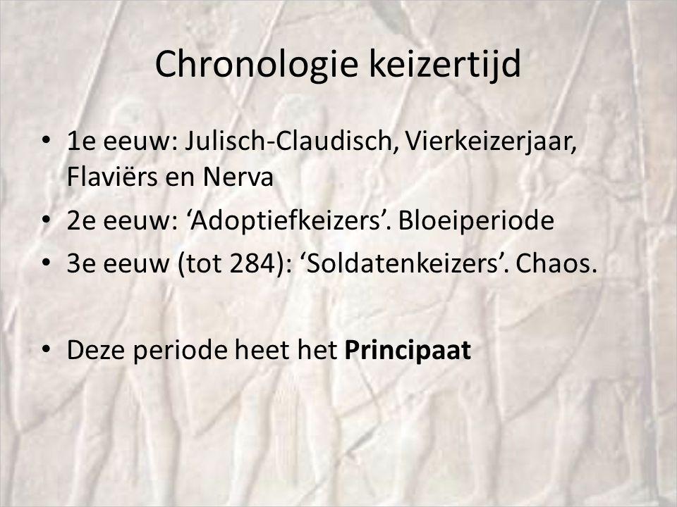 Chronologie keizertijd