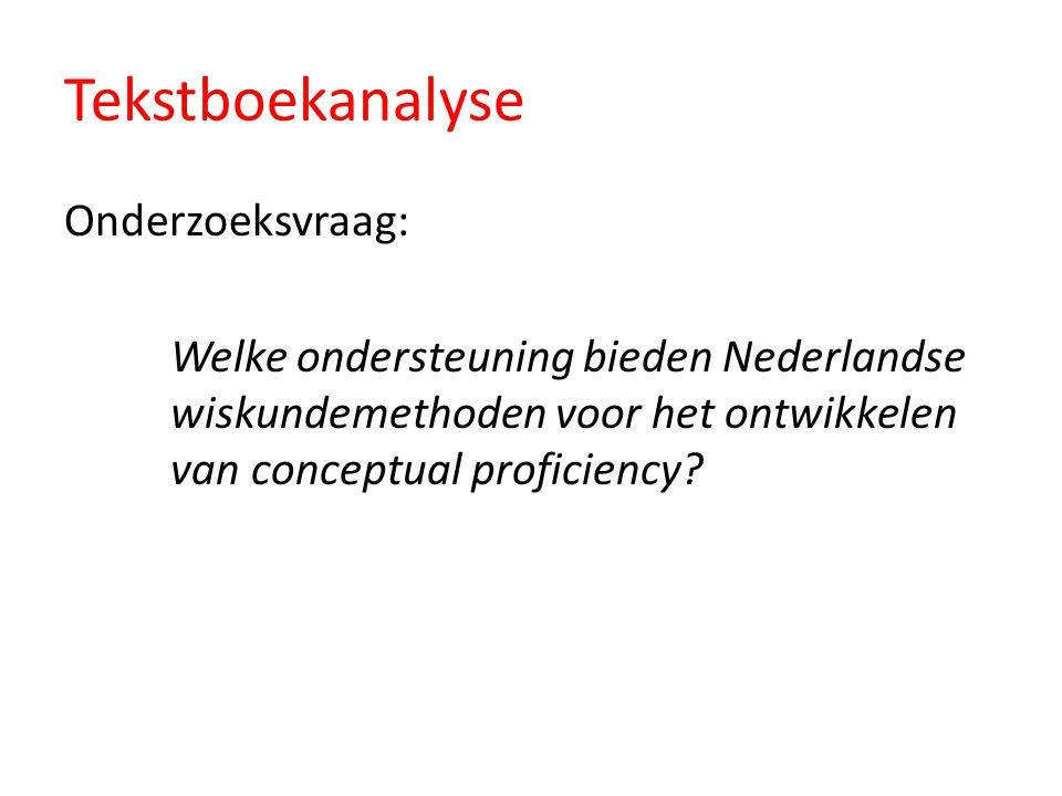 Tekstboekanalyse Onderzoeksvraag: