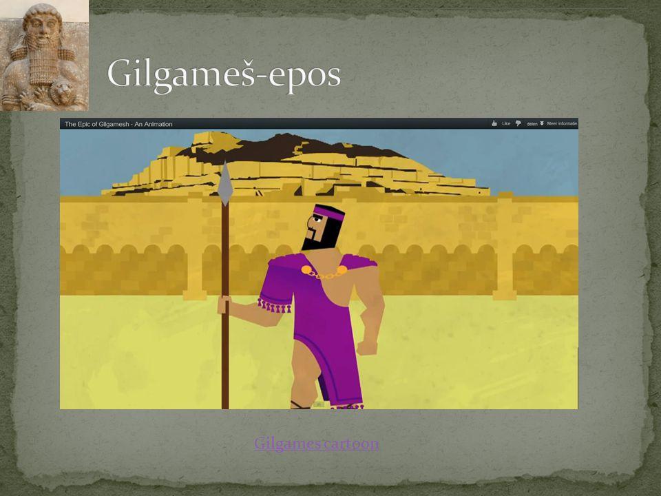 Gilgameš-epos Gilgames cartoon