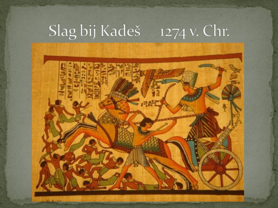 Slag bij Kadeš 1274 v. Chr.