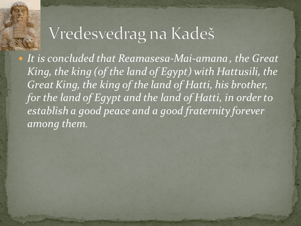 Vredesvedrag na Kadeš
