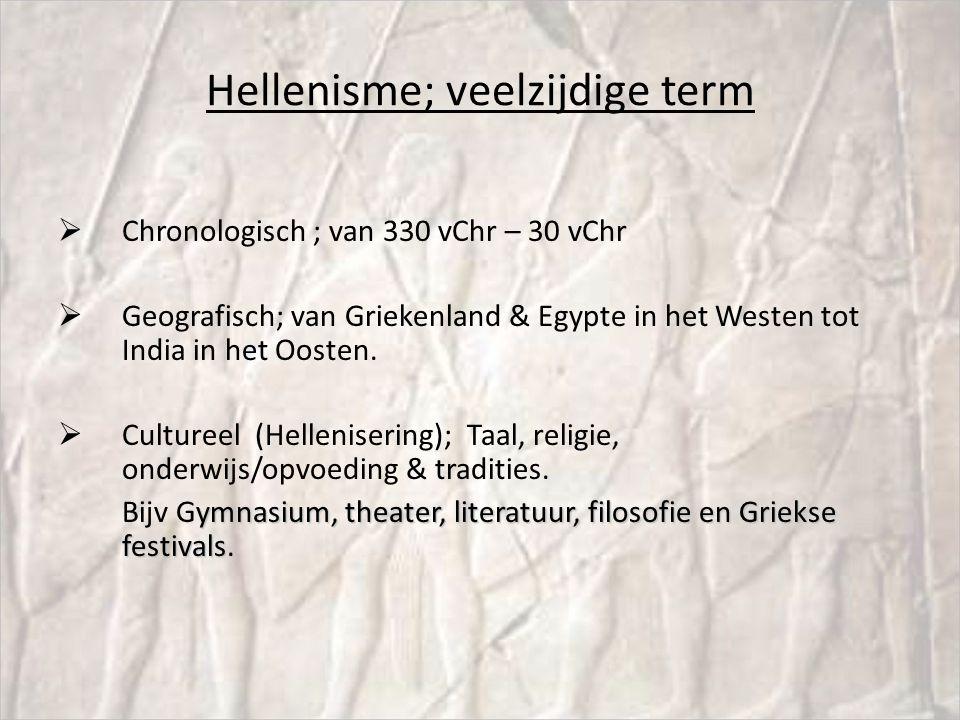 Hellenisme; veelzijdige term