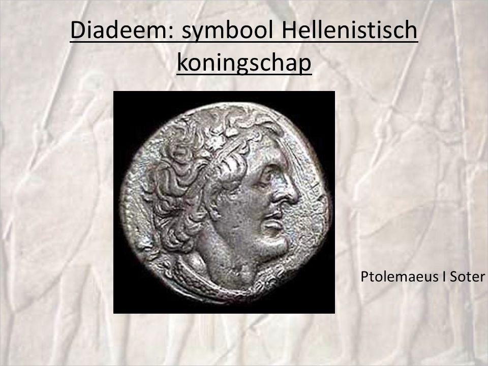 Diadeem: symbool Hellenistisch koningschap
