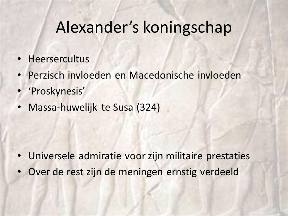 Alexander's koningschap