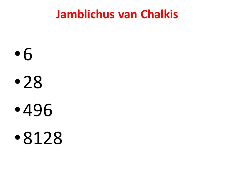 Jamblichus van Chalkis